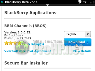 BlackBerry Messenger v8.0.0.52 BETA Info