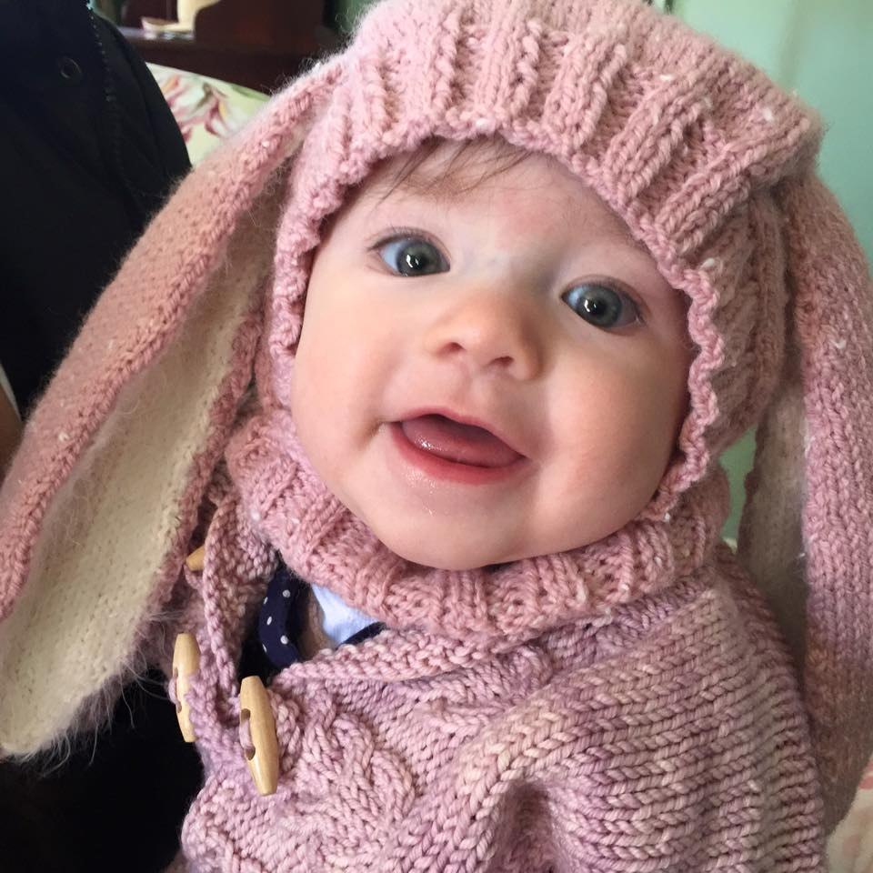 knitnscribble.com: Bunny hat knitting pattern is Easter treat