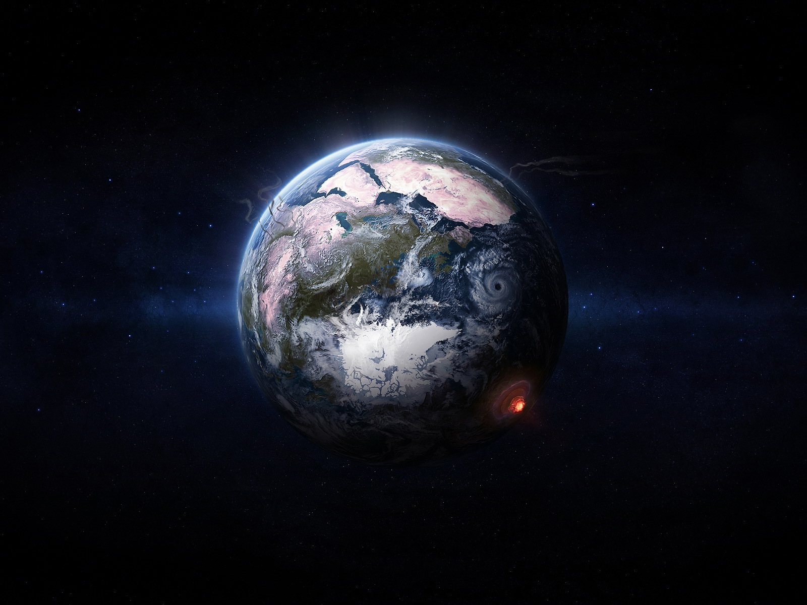 The Nices Wallpapers Earth From Space Wallpaper