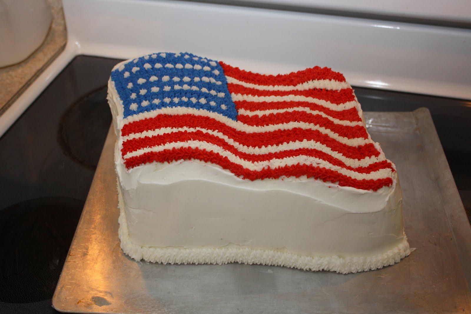 Flag Surprise Inside Cake