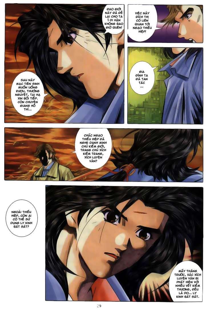 Kiếm Hồn - Sword Soul chap 63 - Trang 31