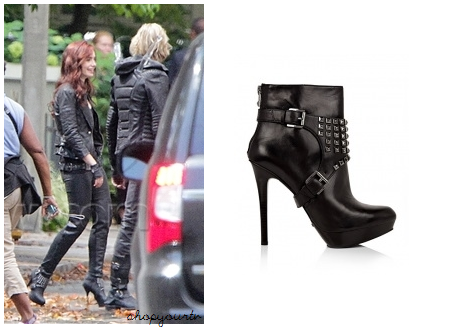 The Mortal Instruments: Clary Fray's (Lily Collins) Black ...