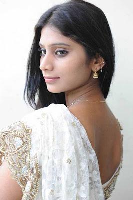 midhuna in saree latest photos