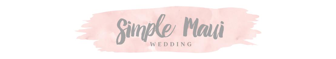 Maui Weddings by Simple Maui Wedding - Real Hawaii Weddings