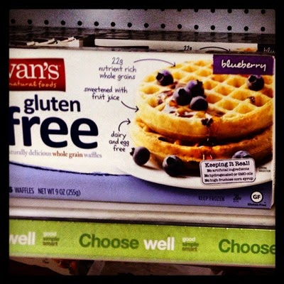 Vegan Vegetarian Food Groceries Target Van's Gluten Free Blueberry Frozen Waffles