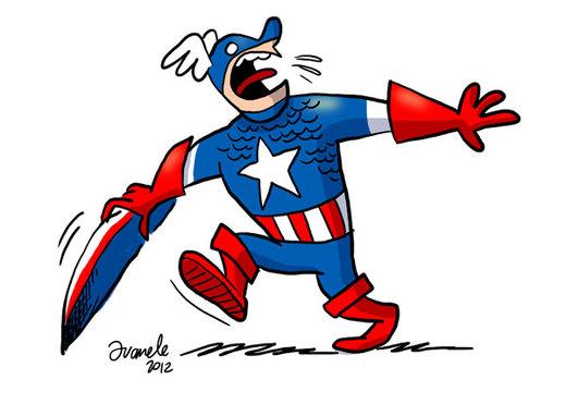 Captain America por Juanele
