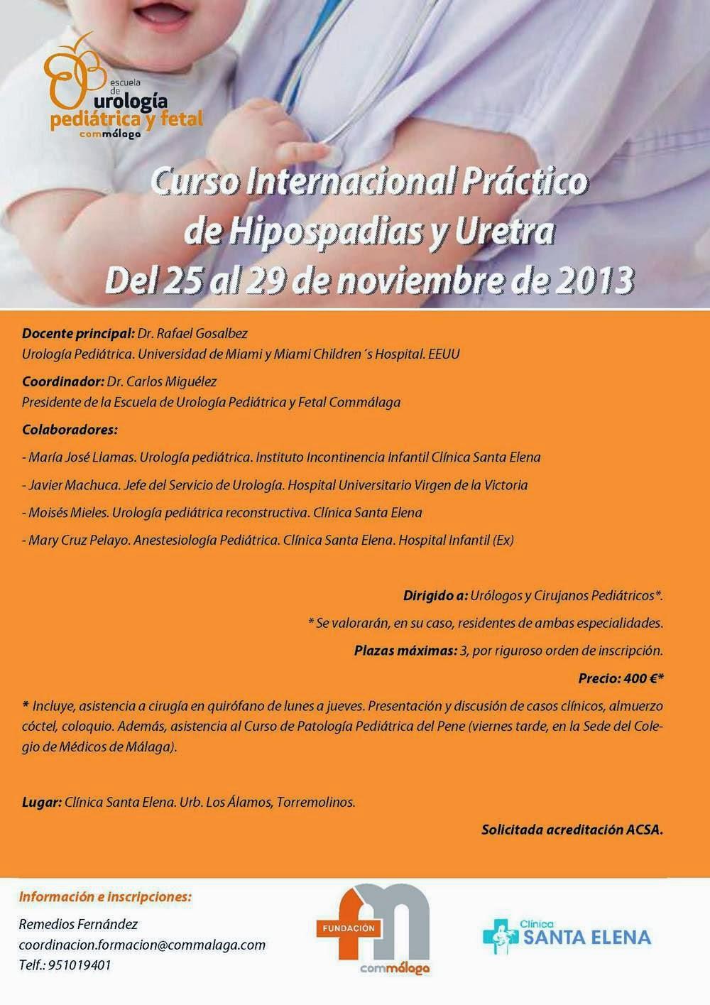 Cuaderno de galenos curso internacional pr ctico de for Clinica santa elena torremolinos