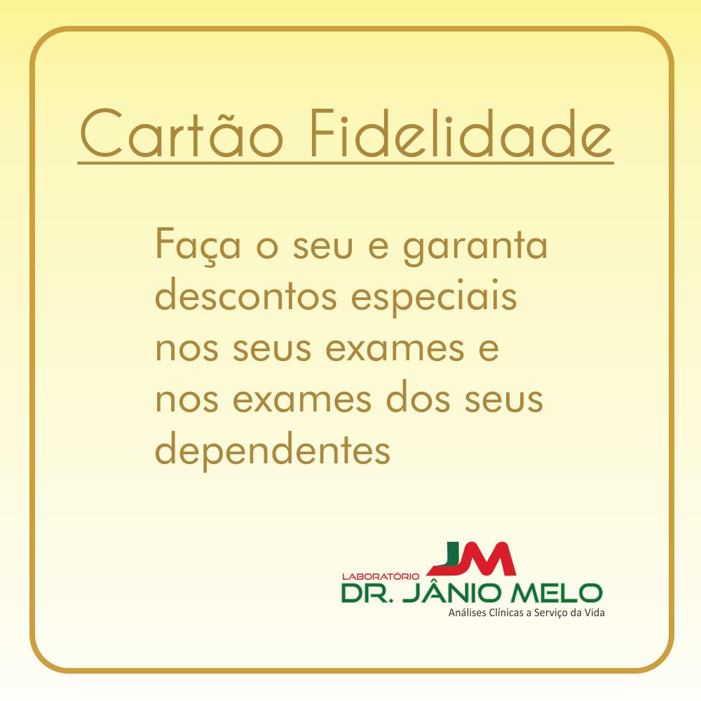 CARTÃO FIDELIDADAE