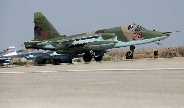 Jet Tempur Rusia Intensifkan Serangan