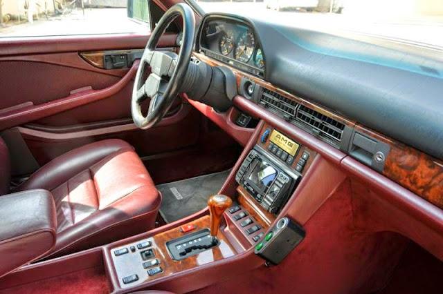 mercedes 560 sec amg interior