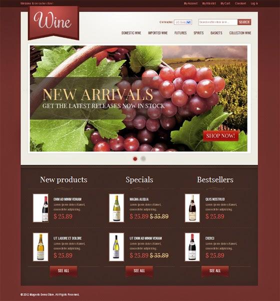 thiết kế web bán hàng rượu chuyên nghiệp