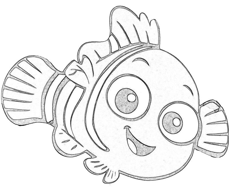Nemo Coloring Page