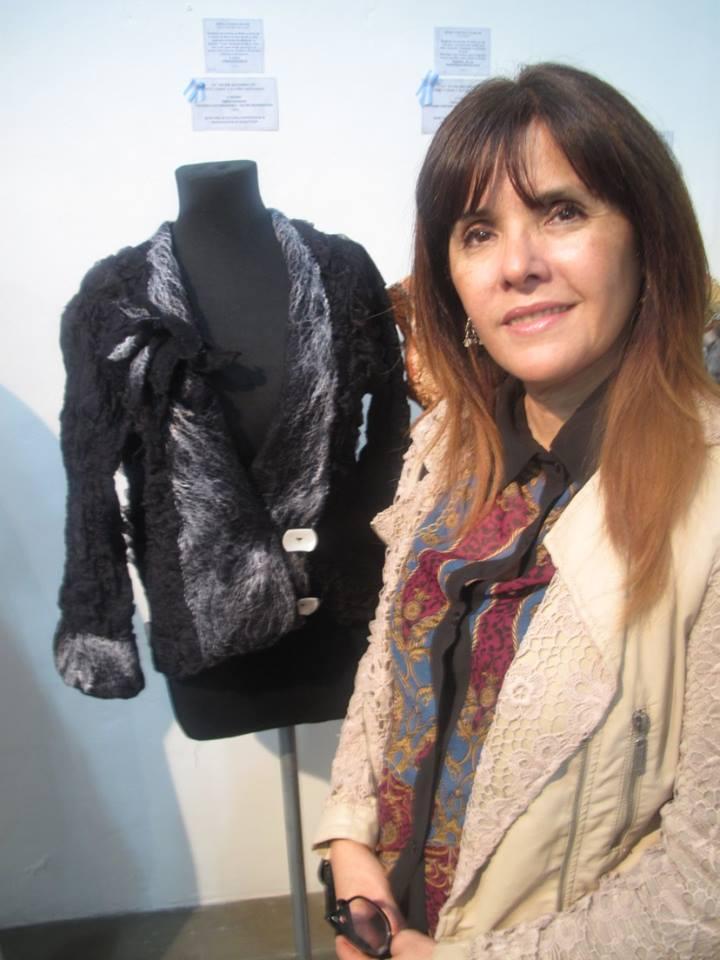 Stella Grandi Primer Premio en Fieltro, XVIII Salon Nacional de Diseño y Creatividad Artesanal
