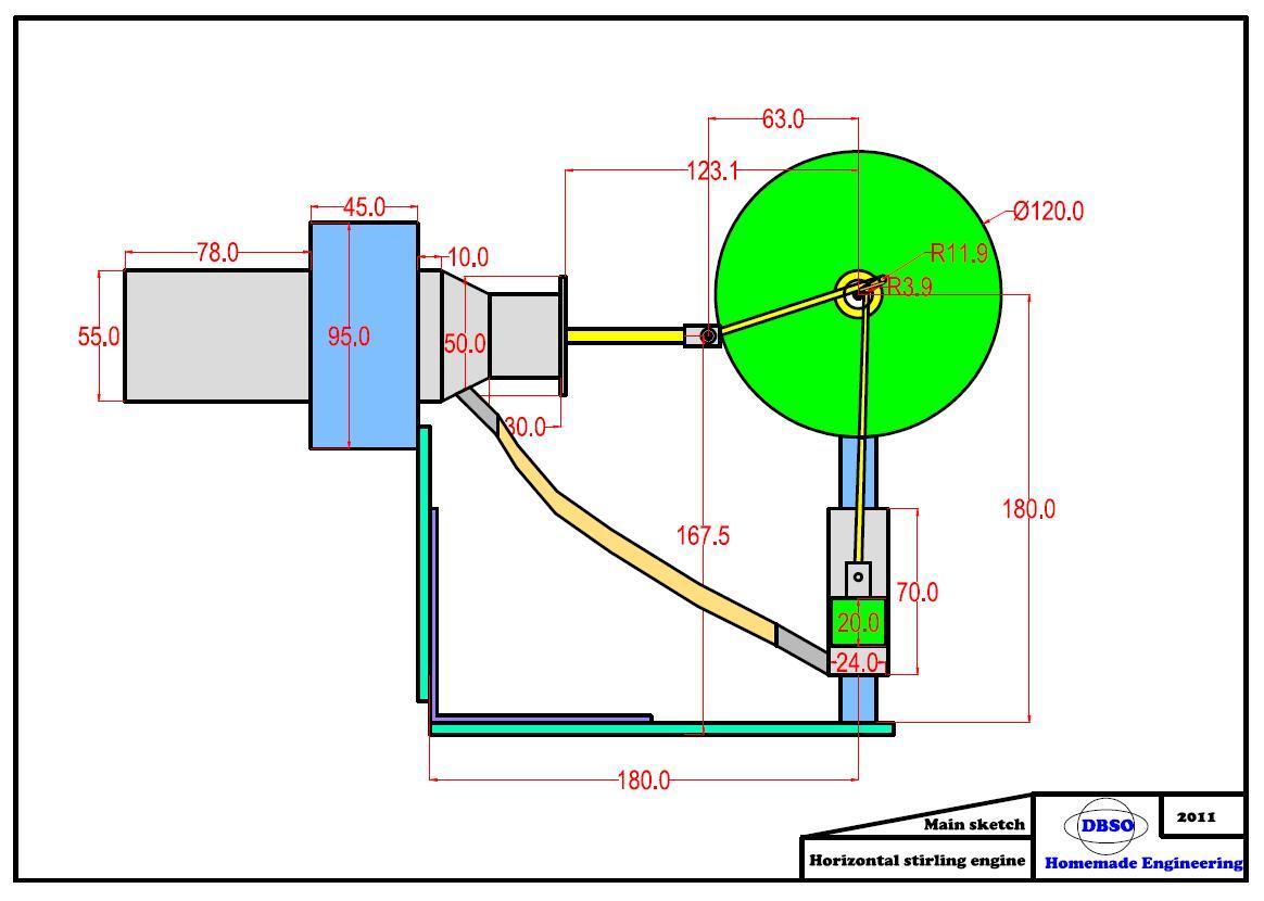 Как сделать в домашних условиях двигатель стирлинга