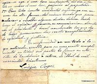 Documento de Candelario Salamanca 1921-2