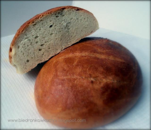 chleb pszenny, przepis na chleb, chleb na drożdżach, chleb francuski