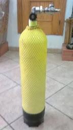 Botella para bucear