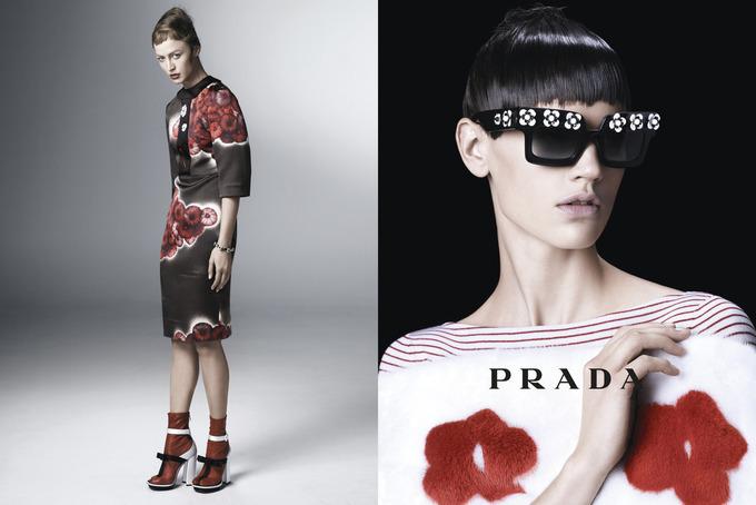 Prada Accessories Lookbook Prada Lookbook Spring-summer