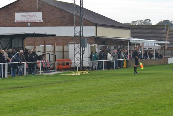 Brightlingsea Regent have found a strange way to increase their seating capacity