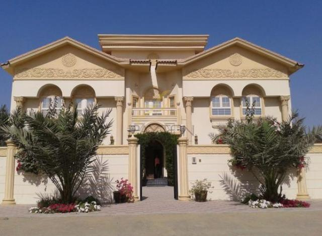 Exterior homes designs sharjah uae for Modern house uae
