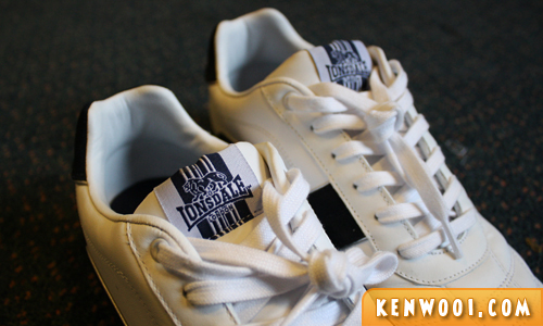 lonsdale shoes upclose