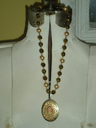 Another Goldtone Cameo Necklace