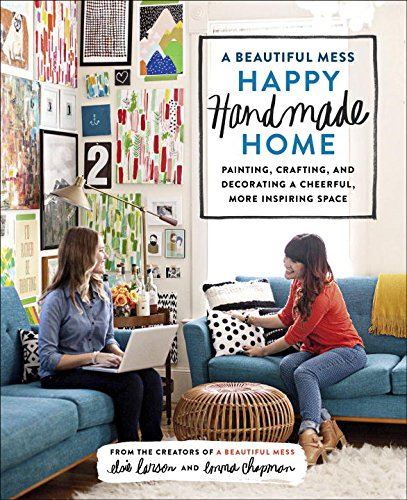 This book by the creators of A Beautiful Mess blog has SO many ideas for a DIY home.
