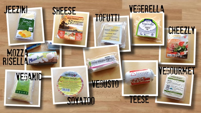 UK Vegan Cheese Selection