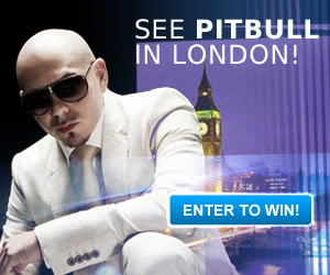 Pitbull in London Sweepstakes