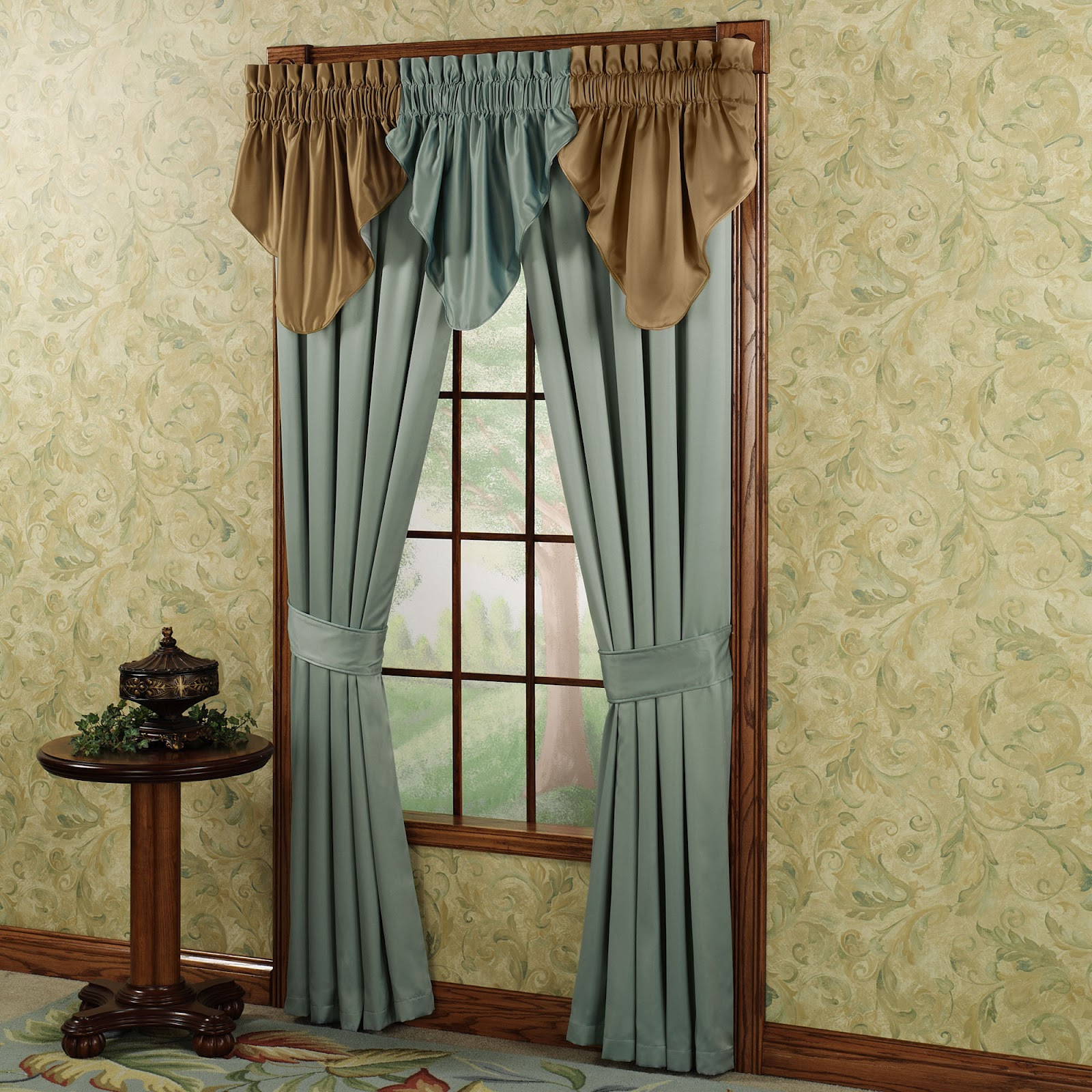 New home designs latest home curtain designs ideas for Home drapes and curtains