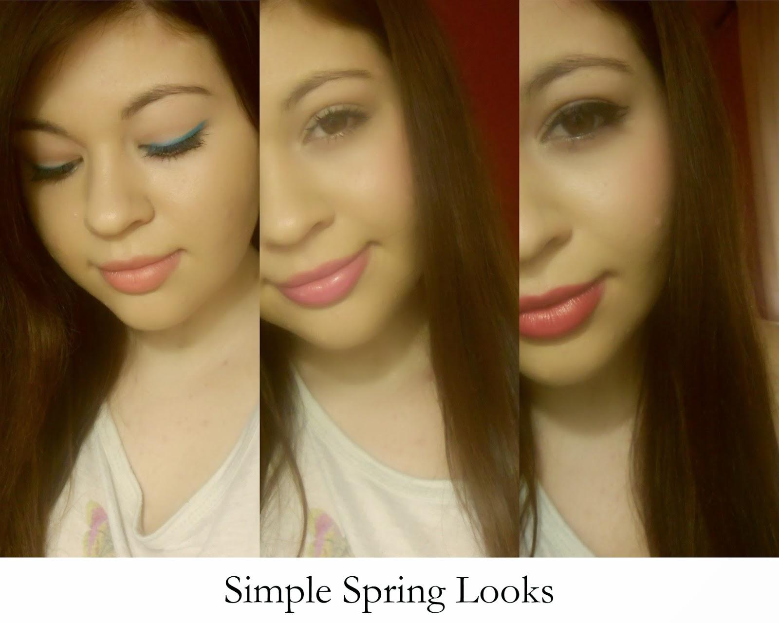 3 Simple Spring Makeup Looks