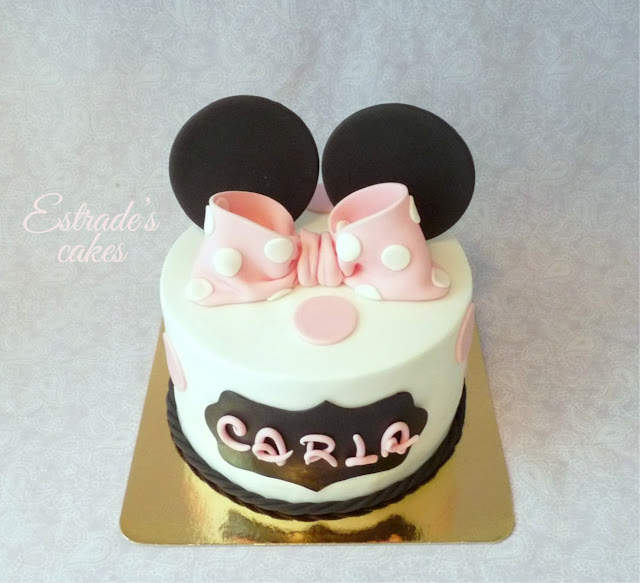 tarta Minnie Mousse 4