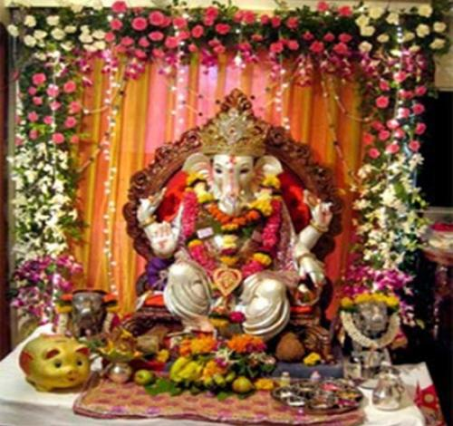 Amazing Ganesh Utsav Celebrations Ganesh Chaturthi Decoration I Flickr .