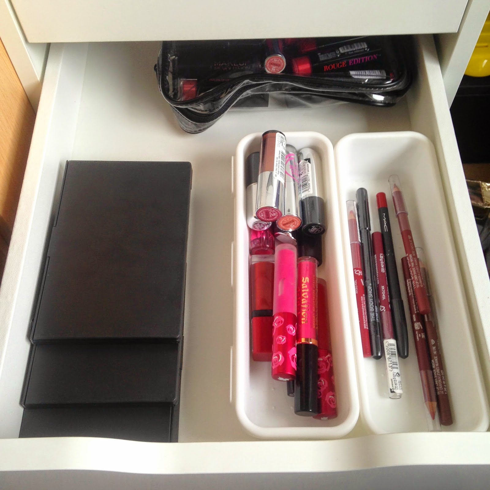 Ikea Alex Drawers Make Up Storage