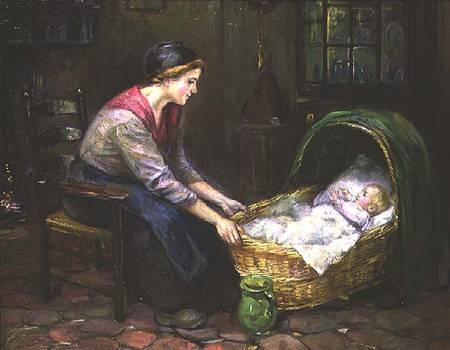 Cornelis c zwaan mother and child xix в