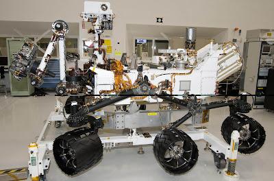 Curiosity Rover Machine