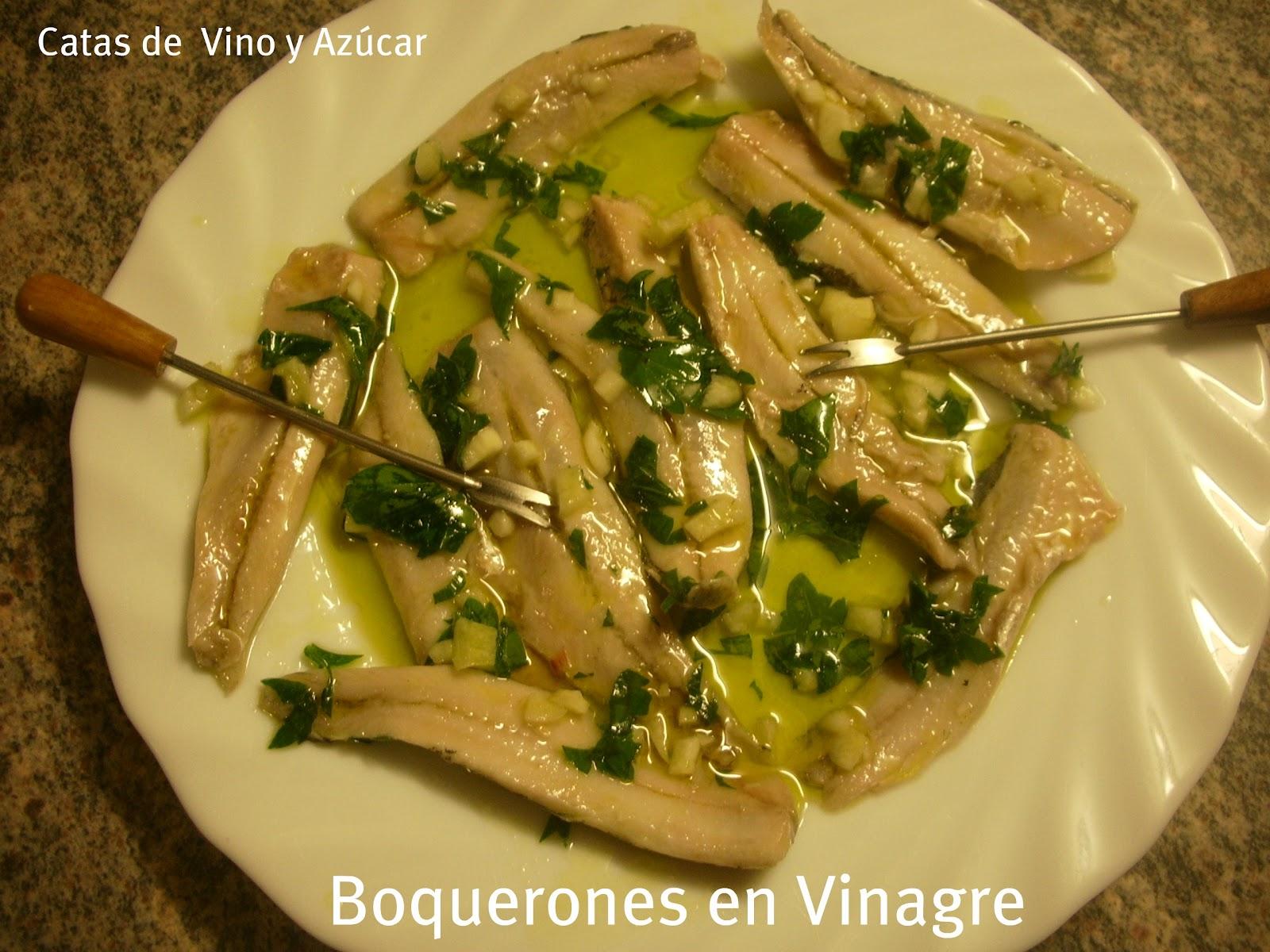 Catas de vino y az car boquerones en vinagre - Calorias boquerones en vinagre ...