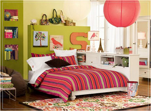 teen girl bedroom idea 1