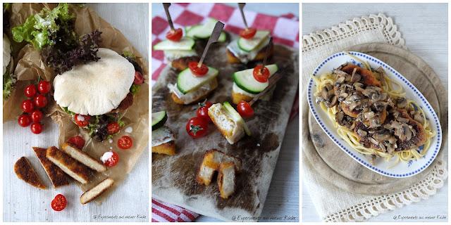 Experimente aus meiner Küche: Veggieschnitzel