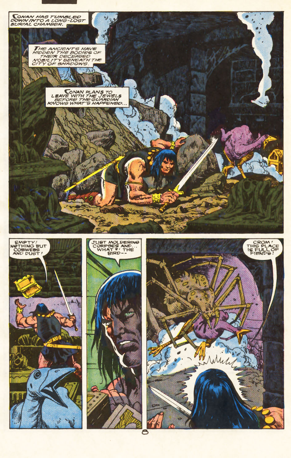 Conan the Barbarian (1970) Issue #217 #229 - English 7
