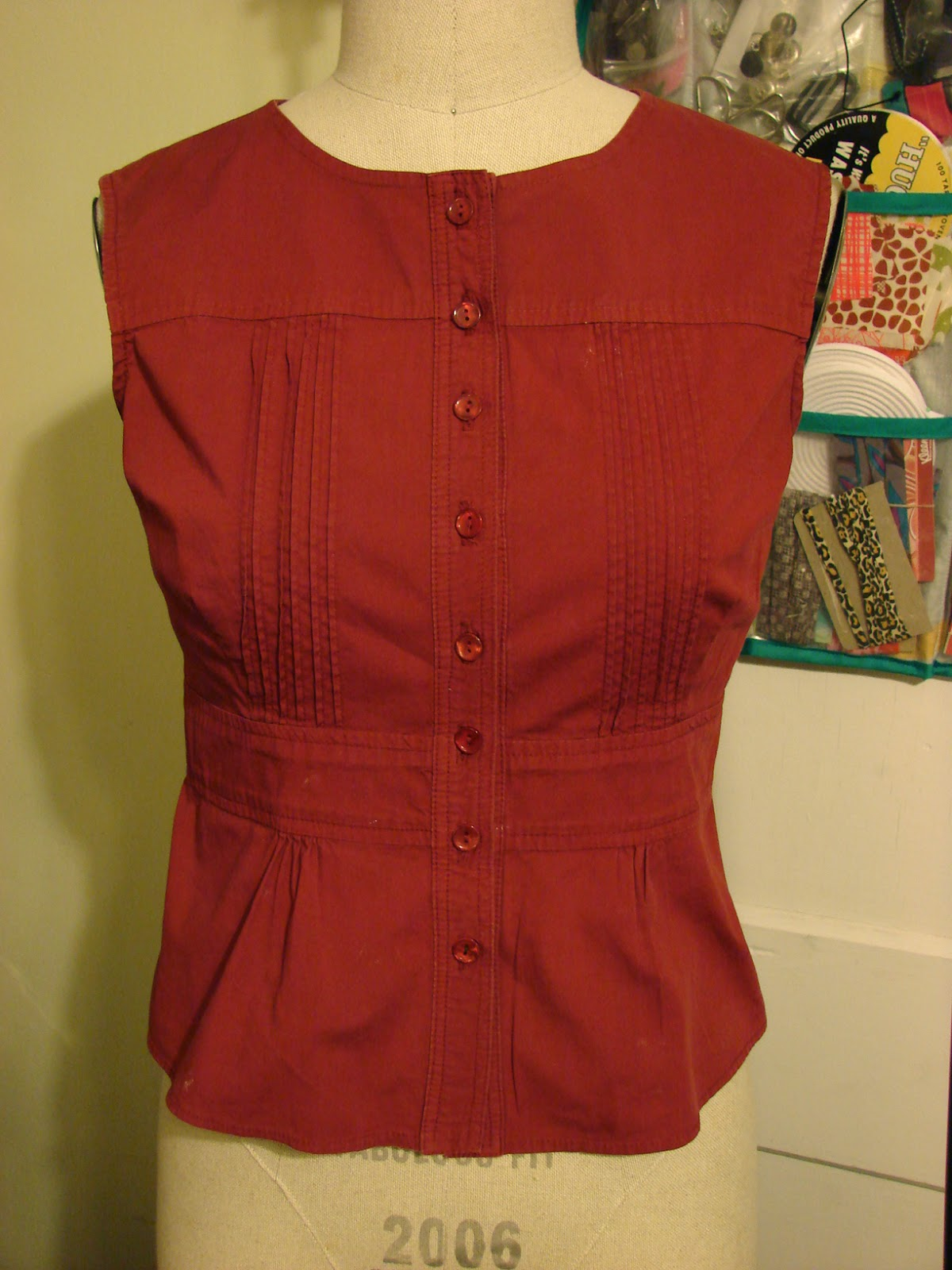 Refashion Men 39 S Button Down Shirt To Women 39 S Fitted