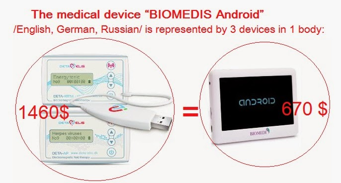 "The medical device ""Biomedis Android"""