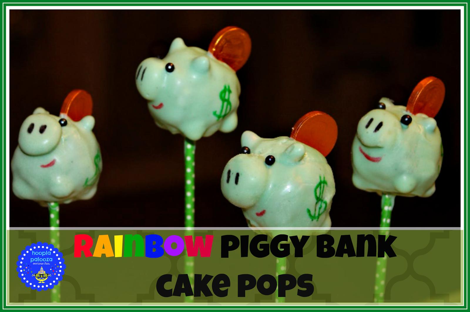 http://hooplapalooza.blogspot.com/2014/03/rainbow-piggy-bank-cake-pops.html