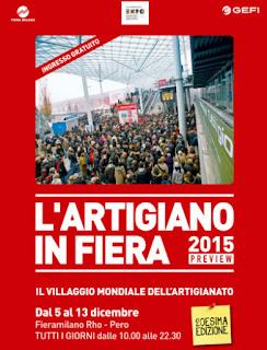 L'Artigiano in Fiera Milano 2015