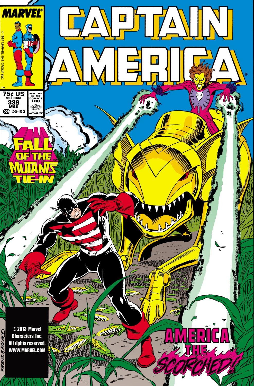 Captain America (1968) Issue #339 #268 - English 1