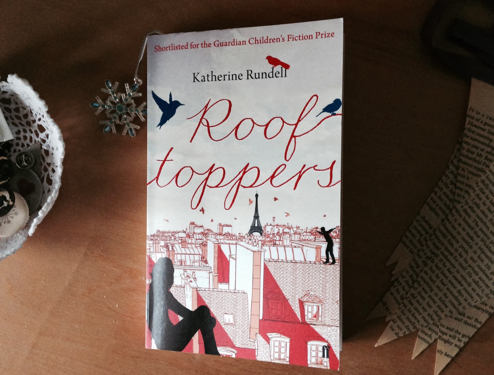 Rooftoppers book by Katherine Rundell