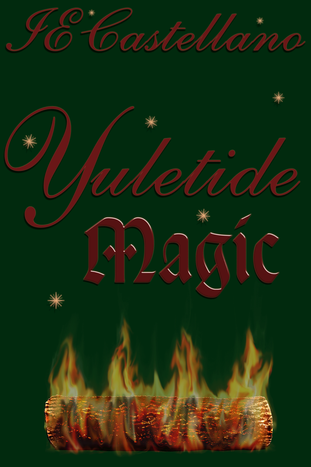 Yuletide Magic (The World In-between series prequel) by IE Castellano