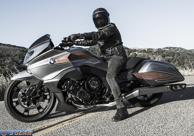 BMW unveils Concept 101 bagger-style cruiser | Car Reviews | New Car Pictures for 2018, 2019