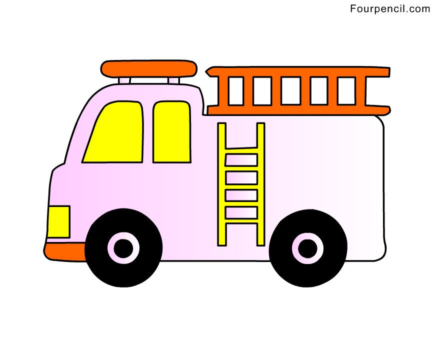 How To Draw A Firefighter Truck Galleryhipcom The
