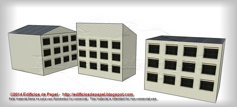 nuevos edificios de 3 pisos